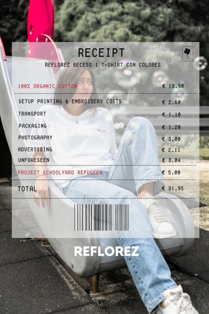 Receipt Reflorez